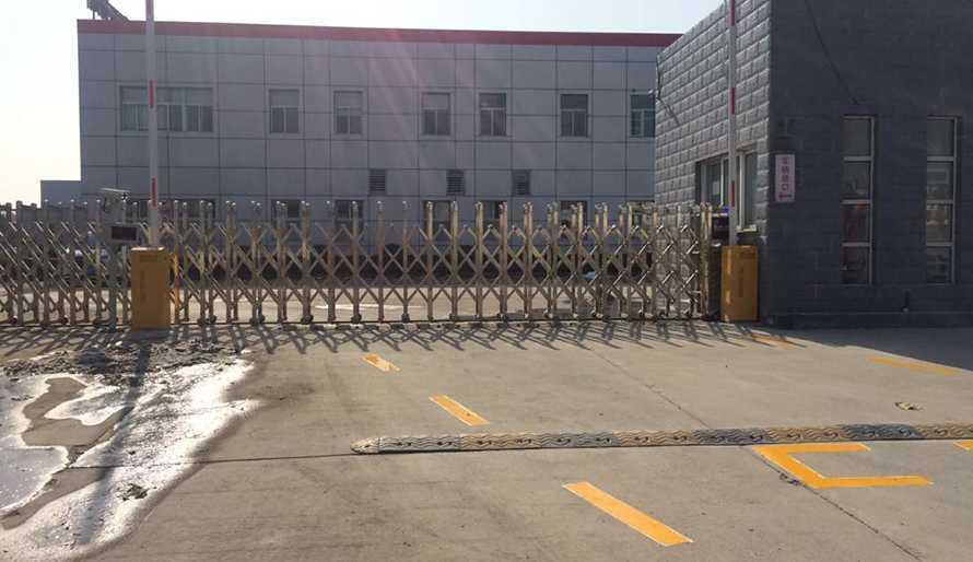 东风李尔泰新汽车座椅有限公司采用华捷盛智能道闸