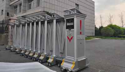 郑州电动伸缩门厂家新工程项目汇报