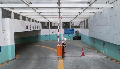 河南残疾人联合会地下停车场华捷盛智能车牌识别系统