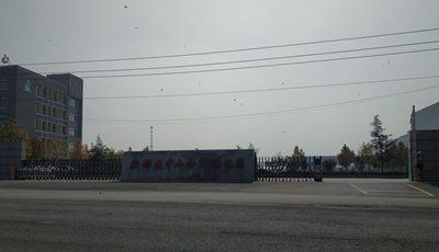华捷盛电动伸缩门应用于殷都区中小企业孵化园
