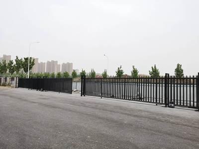 华捷盛智能电动门应用于郑州电力高等专科学校