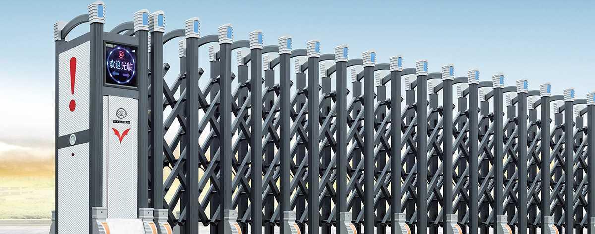 盛系列大鸿福标准型C-1电动伸缩门解决方案
