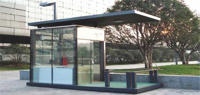 玻璃岗亭1