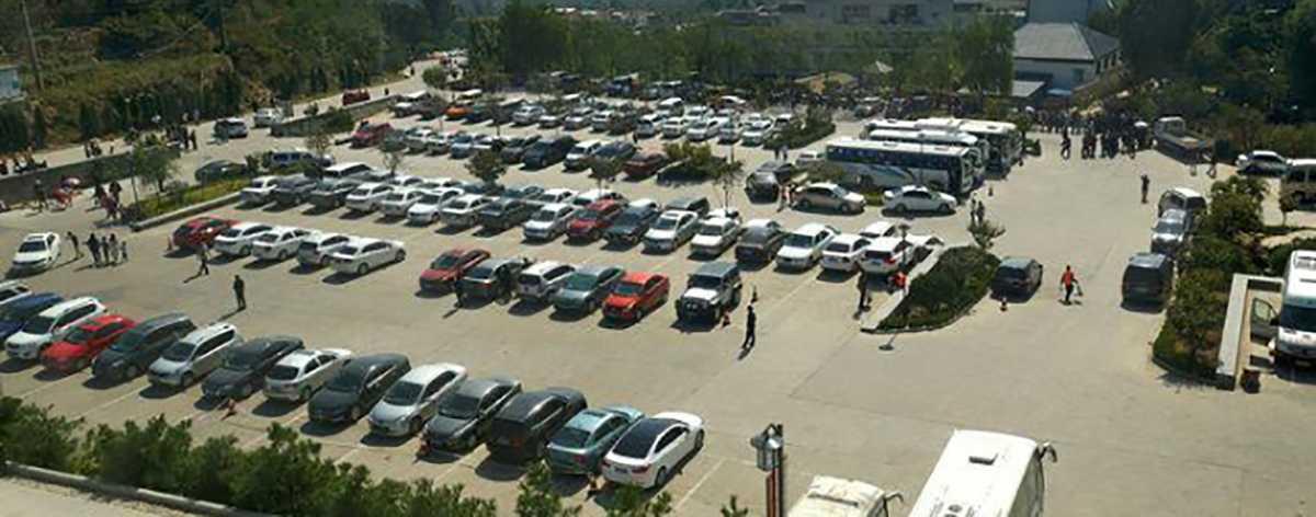 旅游景区停车场系统解决方案