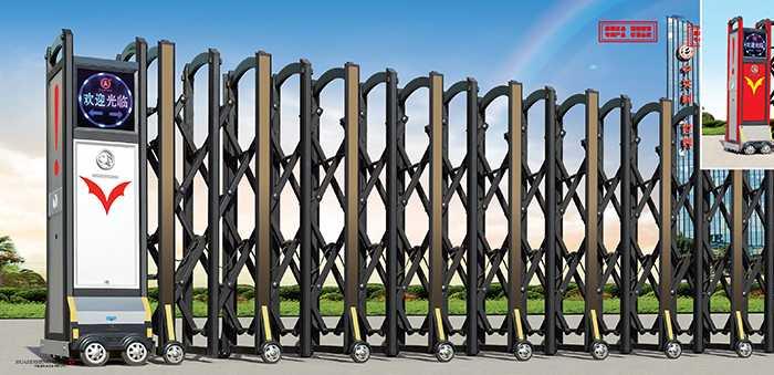 大鸿福豪华Ⅱ(2)电动伸缩门价格_尺寸